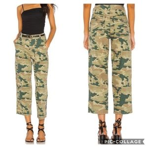 Free People Remy Camo Print Crop Jeans 29